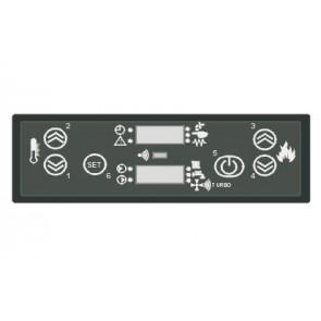 Tableau de commande avec afficheur à LED POLAR AIR BOX PELLET 4160311