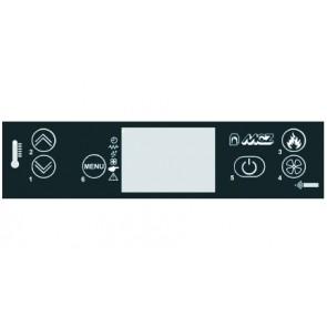 Tableau de commande avec afficheur LCD  POLAR AIR BOX PELLET 4160388