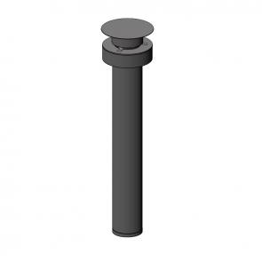 Terminal vertical Noir Poujoulat PGI 80/130 Ref.37080781-9030
