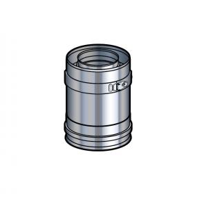 Elément droit 10 cm inox Poujoulat PGI 80/130 Ref.37080202