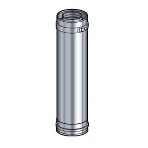 Elément droit 45 cm inox Poujoulat PGI 80/130 Ref.37080704