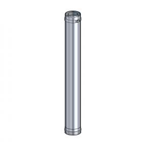 Elément droit 100 cm inox Poujoulat PGI 80/130 Ref.37080705