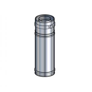 Elément réglable 39 à 56 cm inox Poujoulat PGI 80/130 Ref.37080729