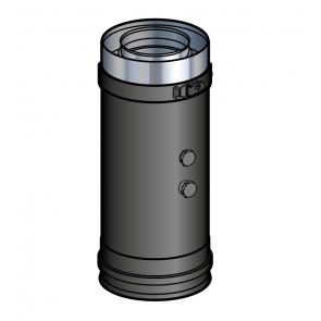 Elément prise de mesure fumée Noir Poujoulat PGI 80/130 Ref.37080720-9030