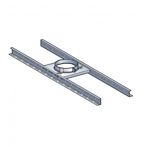 Support plancher Poujoulat PGI 80/130 Ref.45130081