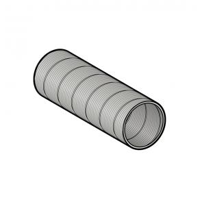 Galva flex (longueur 1 m) Ø 60 mm Poujoulat PGI 60 Ref.51060711
