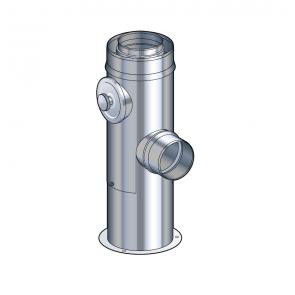 Support au sol réglable de 25 à 40 cm Poujoulat PGI 80/130 Ref.37080507