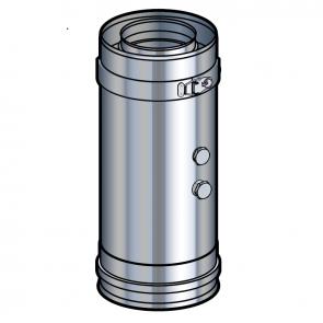 Elément prise de mesure fumée inox Poujoulat PGI 100/150 Ref.37100420