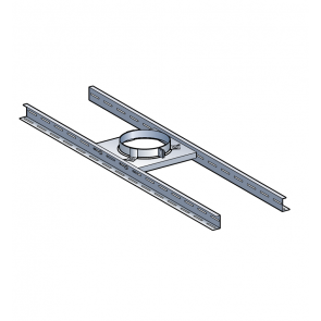 Support plancher Poujoulat PGI 100/150 Ref.45150081