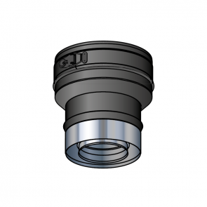 Réduction PGI 100-80 noir Poujoulat Poujoulat PGI 100/150 Ref.37100618-9030