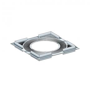 Plaque de distance de sécurité Poujoulat PGI 100/150 Poujoulat PGI 100/150 Ref.37100442