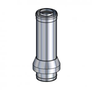 Sortie de toit RONDE  Hauteur 900 mm  Poujoulat PGI 100/150 Ref.37100753