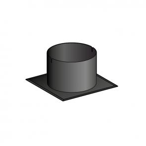 Embase d'étanchéité toit plat Poujoulat PGI 100/150 Ref.ESIO100
