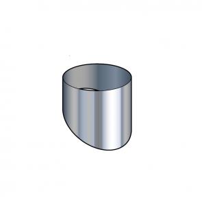Cache inox Poujoulat PGI 80/130 Ref.CESI80