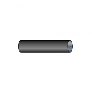 Element droit 50 cm air simple paroi Ø 60 mm noir Poujoulat PGI 60 Ref.08060504-9030