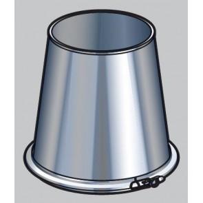 Poujoulat CFI 150 inox galva