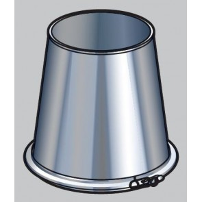 Poujoulat CFI 230 inox galva