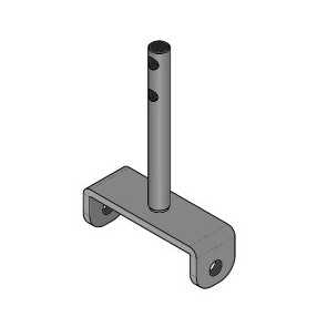 Pièces CADEL étrier support turbulateur 41400914740