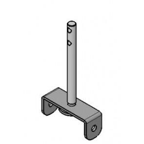 Pièces CADEL Etrier support turbulateur en Inox 41401129341