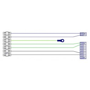 Pièces CADEL Serre-câble 41451202000