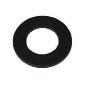 Rosace passante noire  Diametre  80 mm (Diametre  EXT 150) pour poele a pellets