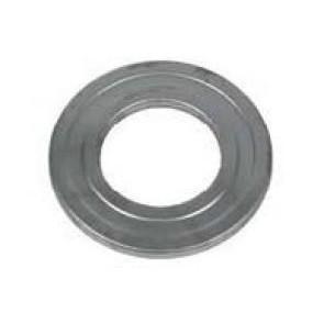 Rosace inox Diametre  100 mm (Diametre  EXT 150) pour poele a pellets