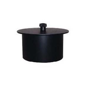 Bouchon trou pellets Diametre  100 mm pour poele a pellets