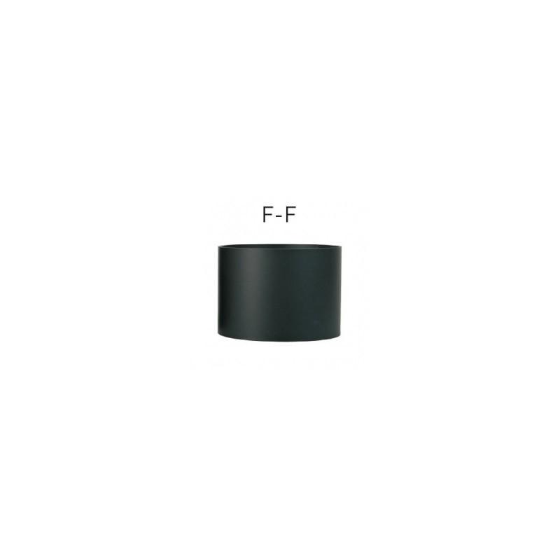Kit anticondensation  femelle-femelle Diamètre   130 mm pour poêle à bois