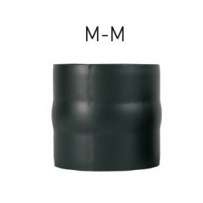 Kit anticondensation  mâle-mâle Diamètre   130 mm pour poêle à bois