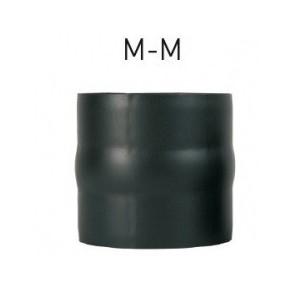 Kit anticondensation  mâle-mâle Diamètre   140 mm pour poêle à bois